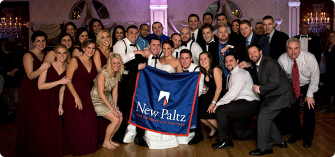 Newlyweds find love and friendship at SUNY New Paltz