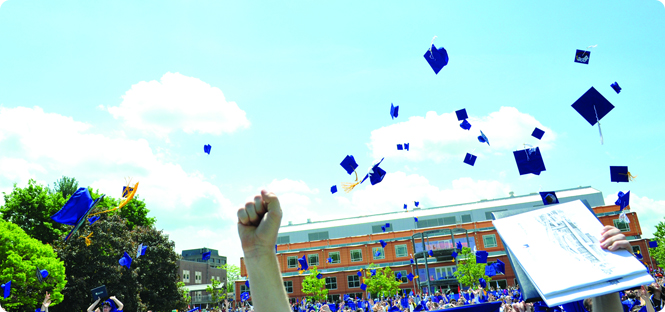 100 Days to Commencement celebration