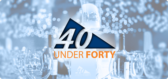 The College names first 40 Under Forty alumni honorees