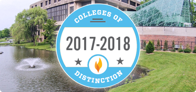 Beyond rankings: SUNY New Paltz named a College of Distinction