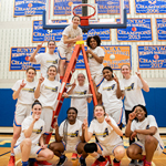 PHOTOS: Women's Basketball takes SUNYAC Championship with thrilling OT victory
