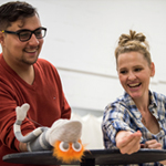 Alumna crafts puppets for new theatre curriculum at SUNY New Paltz