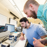 Mechanical Engineering students, young alumni, faculty begin extensive natural fiber analysis
