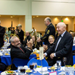 """A Community with Pride and Determination"""": SUNY New Paltz hosts fifth annual Veterans Day Dining In"""
