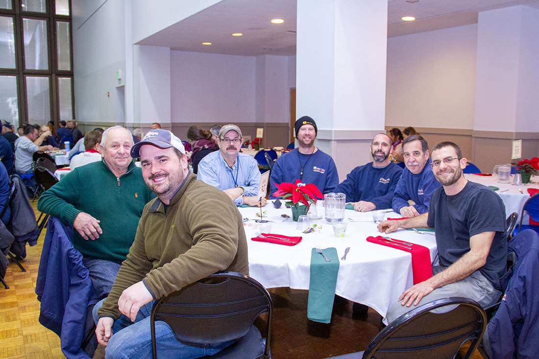 Classified Staff enjoy good food and good company at annual Holiday Luncheon