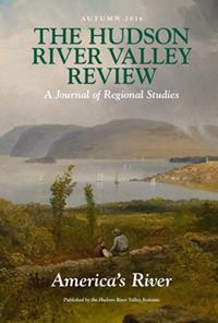 cover of Hudson River Valley Review issue