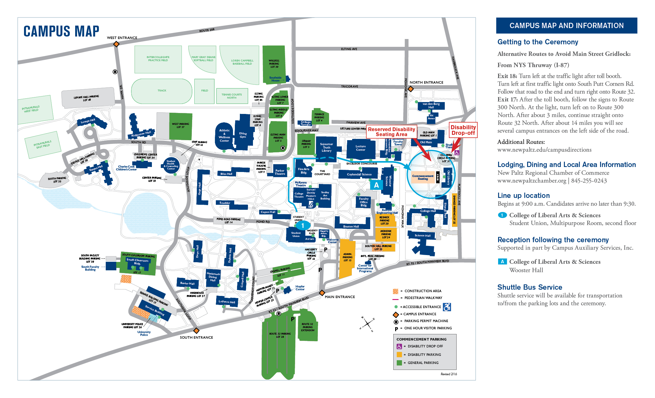 Suny New Paltz Campus Map SUNY New Paltz   Commencement Suny New Paltz Campus Map