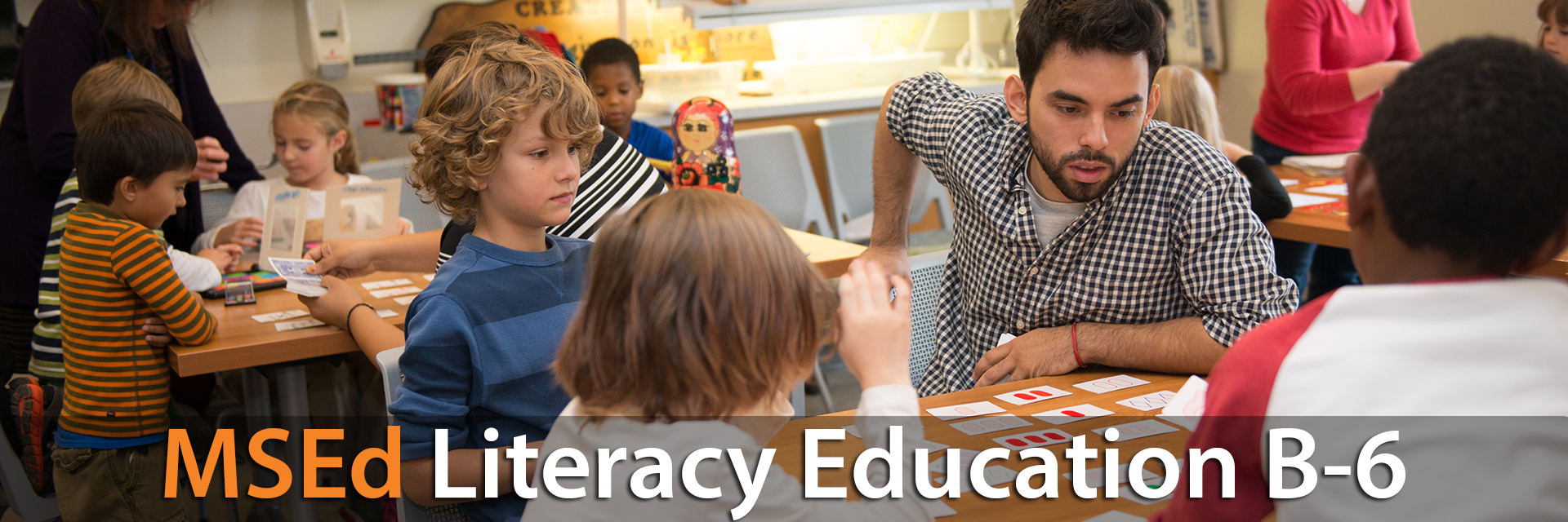 MSEd Literacy Education (B-6)