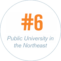 #6 Public University in the Northeast