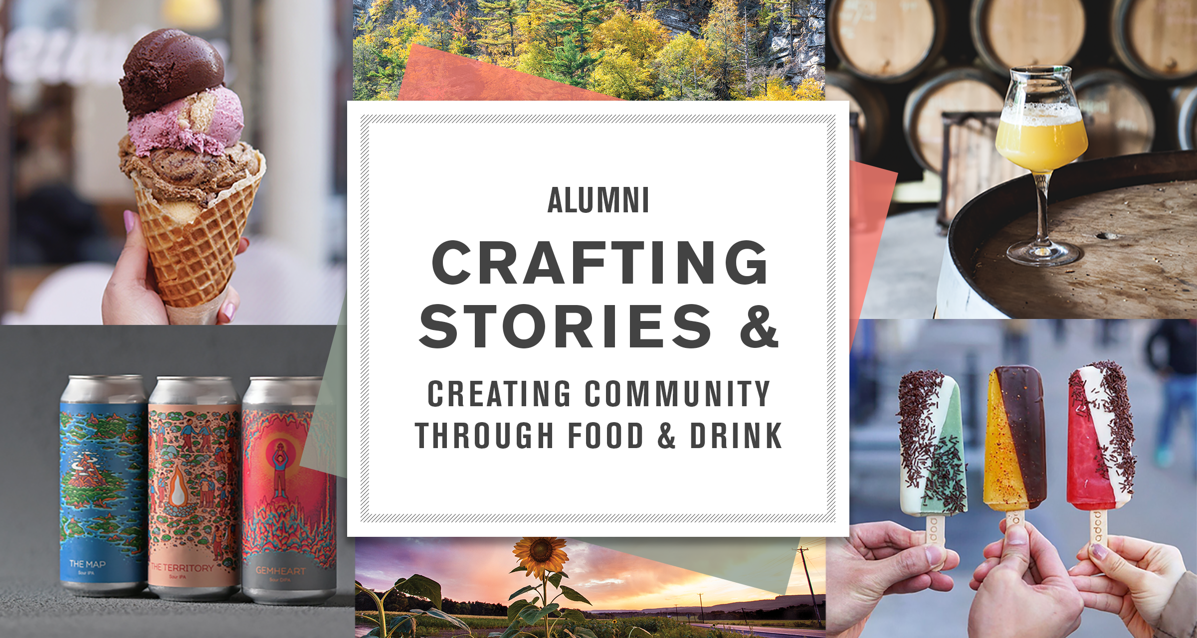 alumni crafting stories & creating community through food & drink
