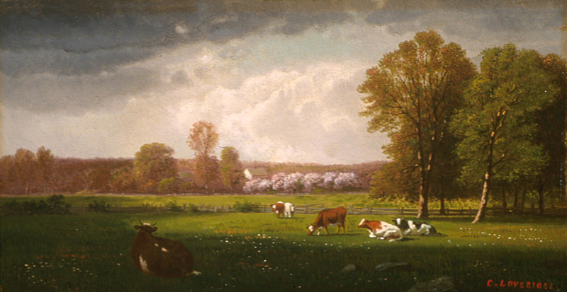 Farm Paintings On Canvas