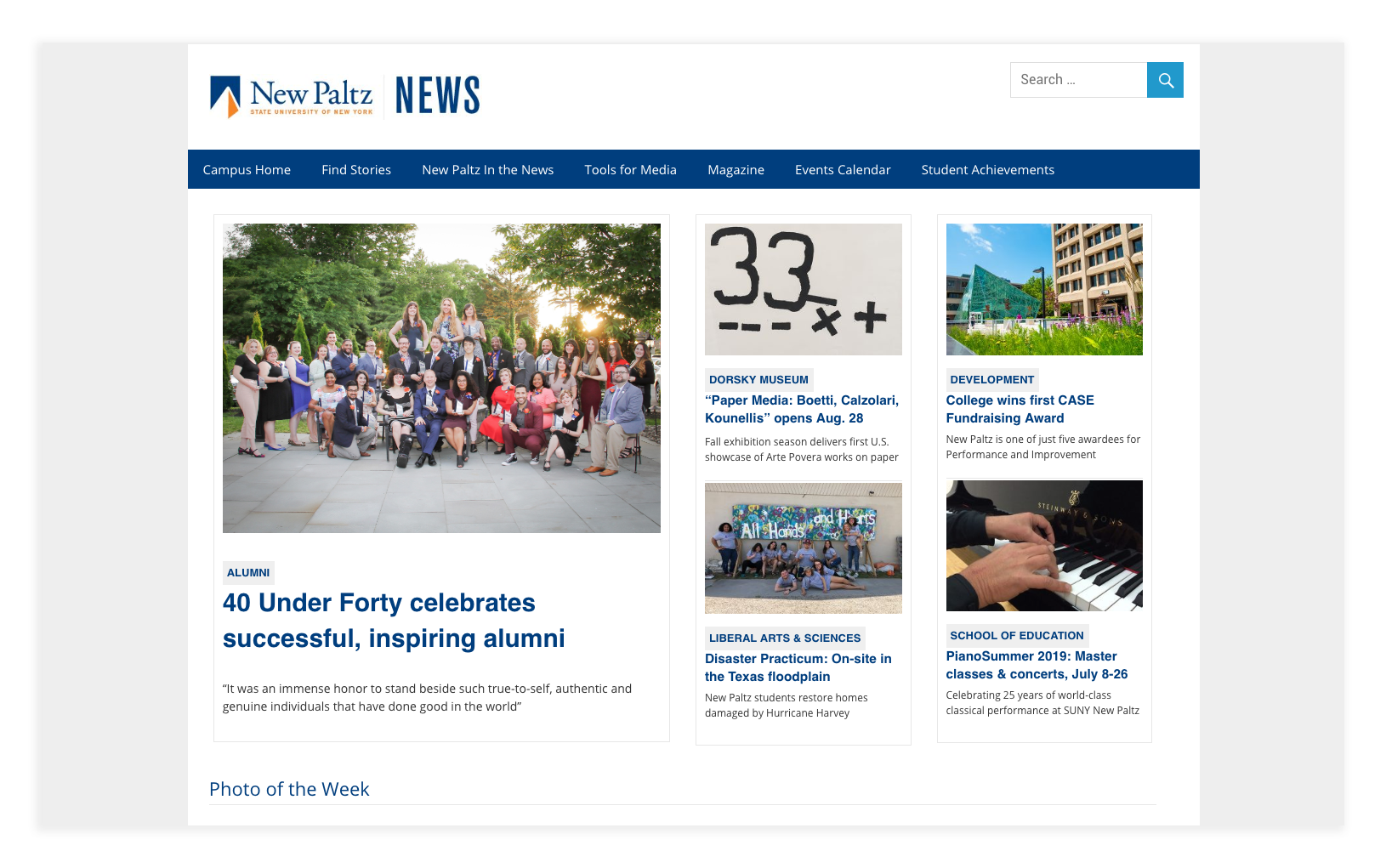 new paltz news screenshot