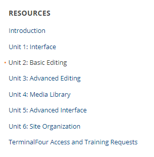 Resources Example