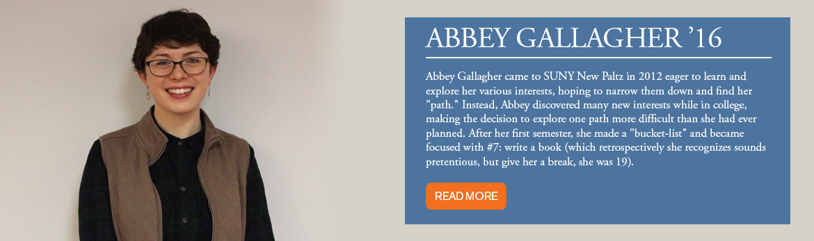 Honors Program Alumni - Abbey Gallagher